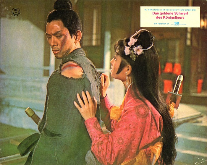 one armed swordsman lobby card