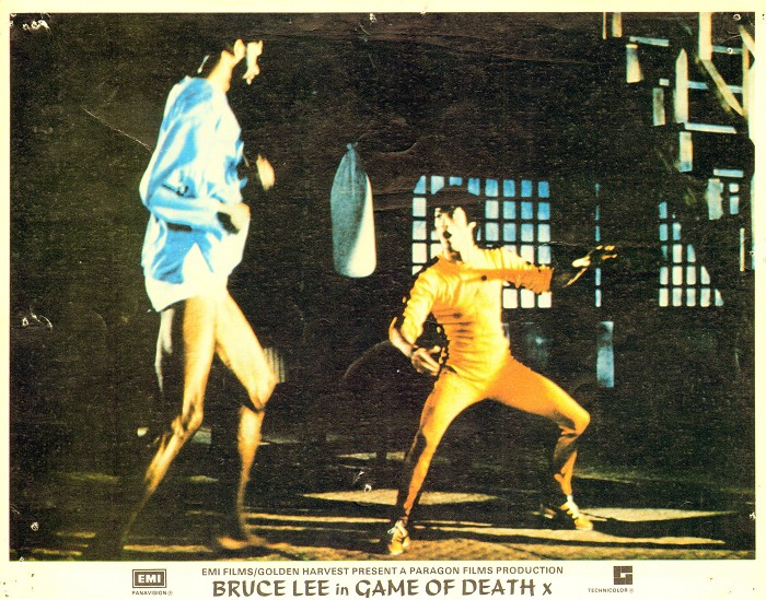 game of death lobby card
