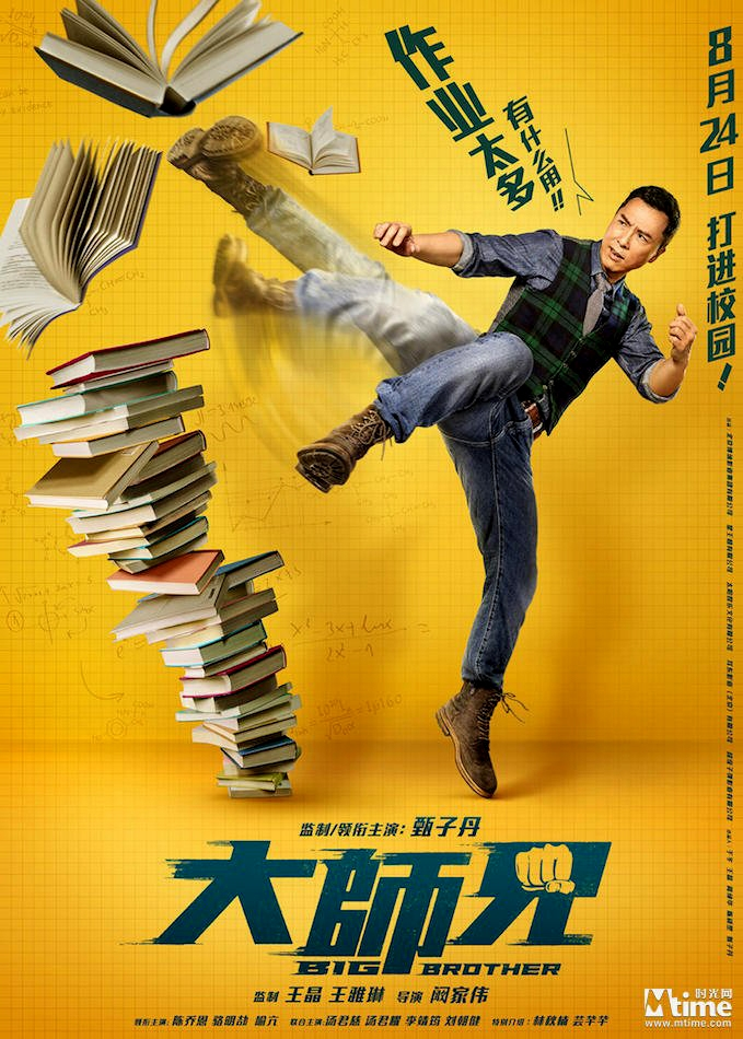 big brother donnie yen poster